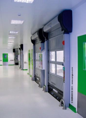 Nergeco Lab Door Site